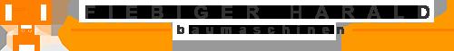 Fiebiger Baumaschinen & Betonmischschaufeln in München Logo